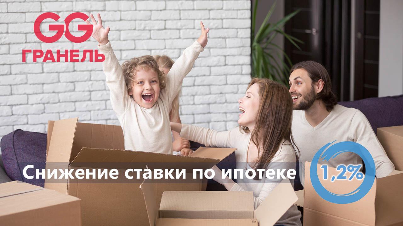 Ипотека от Гранель под 1,2%