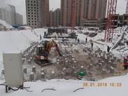 ЖК Сколковский, Январь 2019г. Корпус 5
