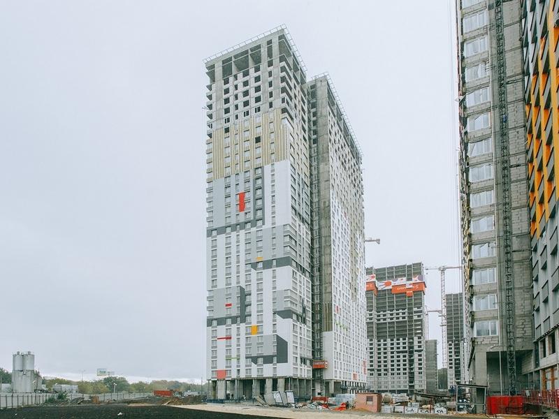 ЖК Спутник, Август 2018г. Корпус 3