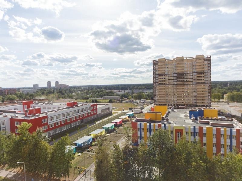 ЖК Новое Пушкино, Август 2018г.