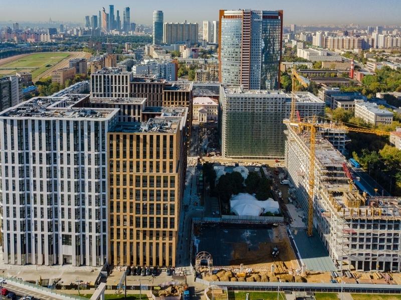 ЖК Царская площадь, Сентябрь 2018г.
