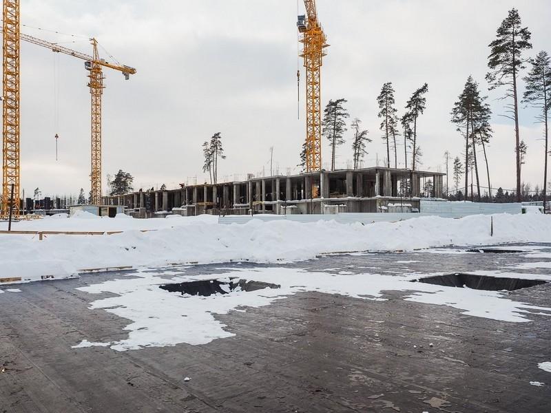 ЖК Лесобережный, Корпус 18. Февраль 2018г.