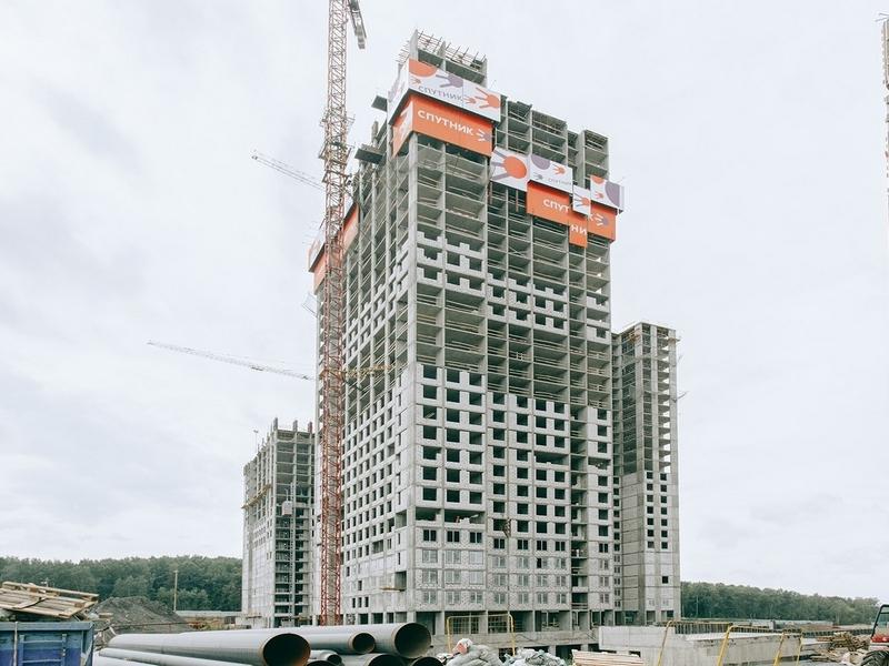 ЖК Спутник, Август 2018г. Корпус 4