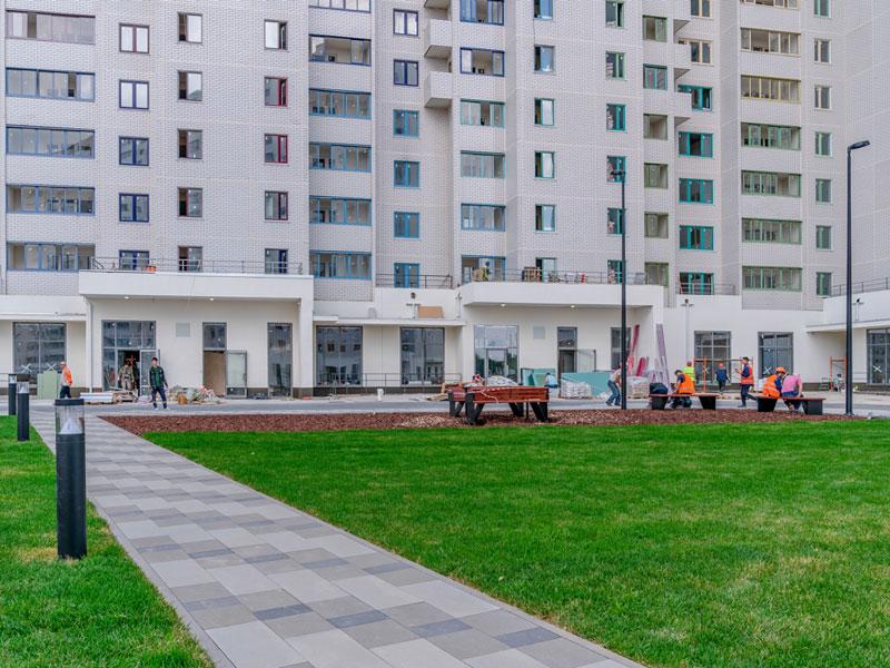 ЖК Новые Ватутинки, Июль 2018г. Корпус 4.1