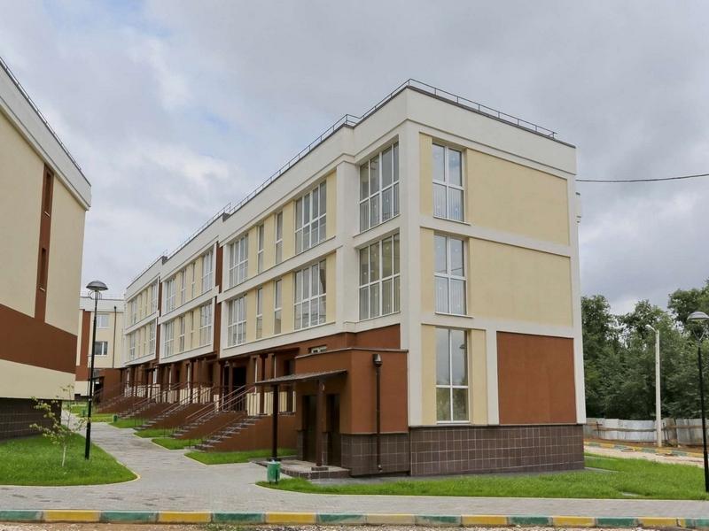ЖК Малина, Июль 2018г. Корпус 1.4