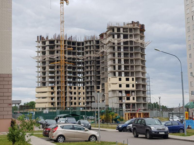ЖК Новое Бутово, Корпус 14. Июль 2018г.