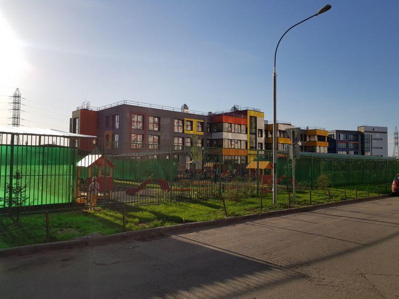 ЖК Новое Бутово, Май 2018г. Детский сад
