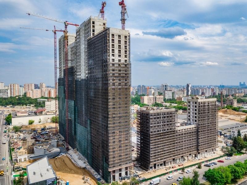 ЖК Селигер Сити, Июль 2018г.