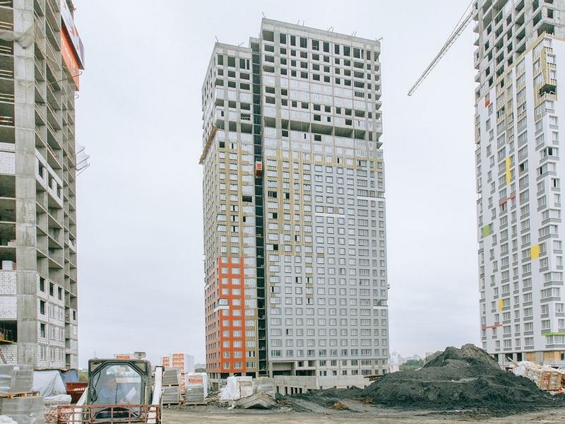 ЖК Спутник, Июль 2018г. Корпус 1