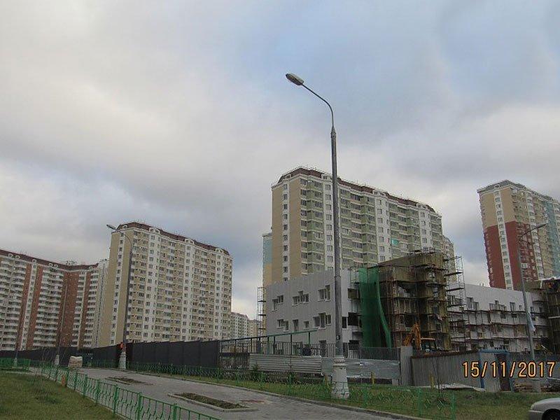 ЖК Некрасовка, Ноябрь 2017г.