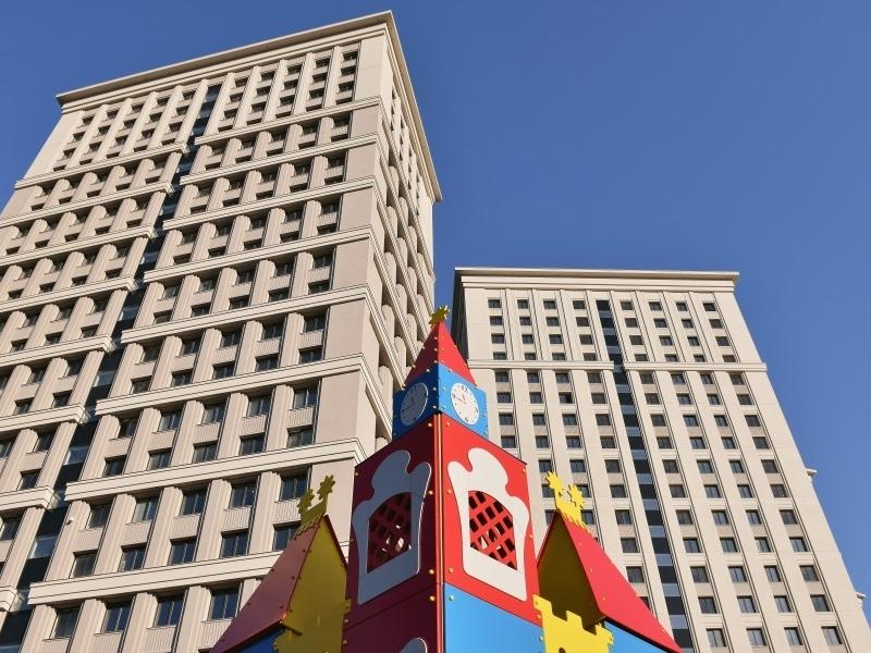 ЖК Родной Город. Октябрьское Поле, Апрель 2018г.