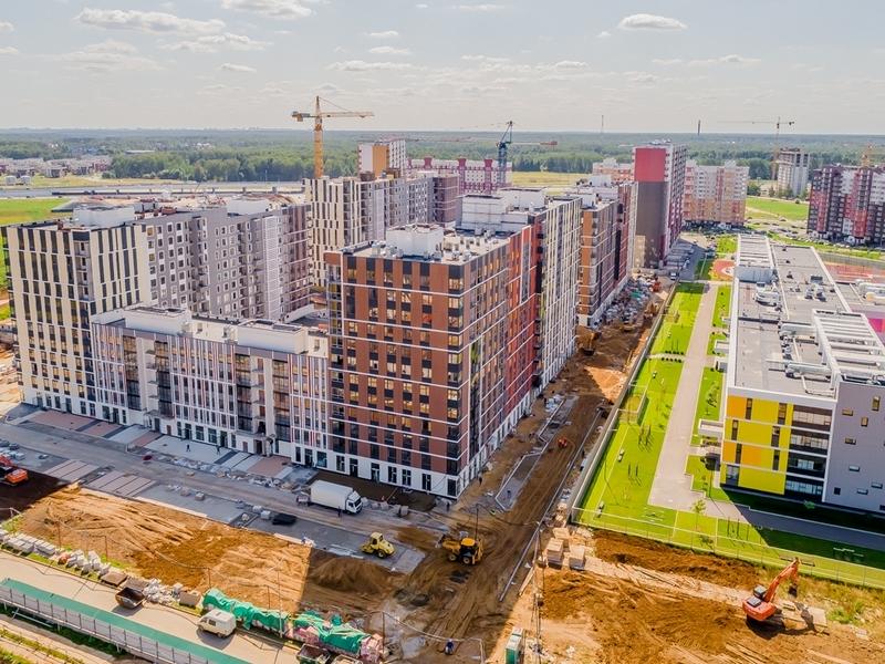 ЖК Новые Ватутинки, Август 2018г.