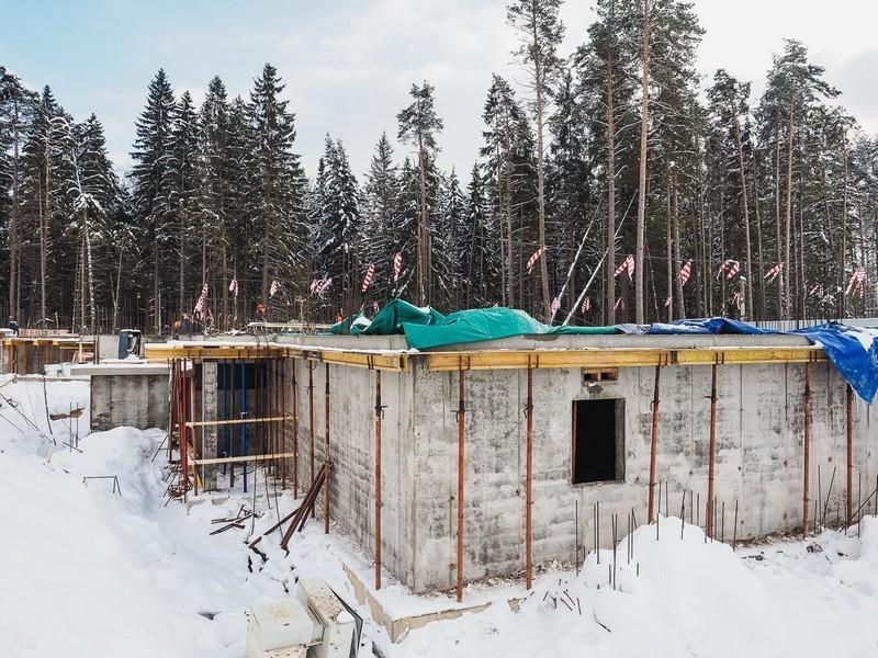 ЖК Лесобережный, Корпус 28. Февраль 2018г.