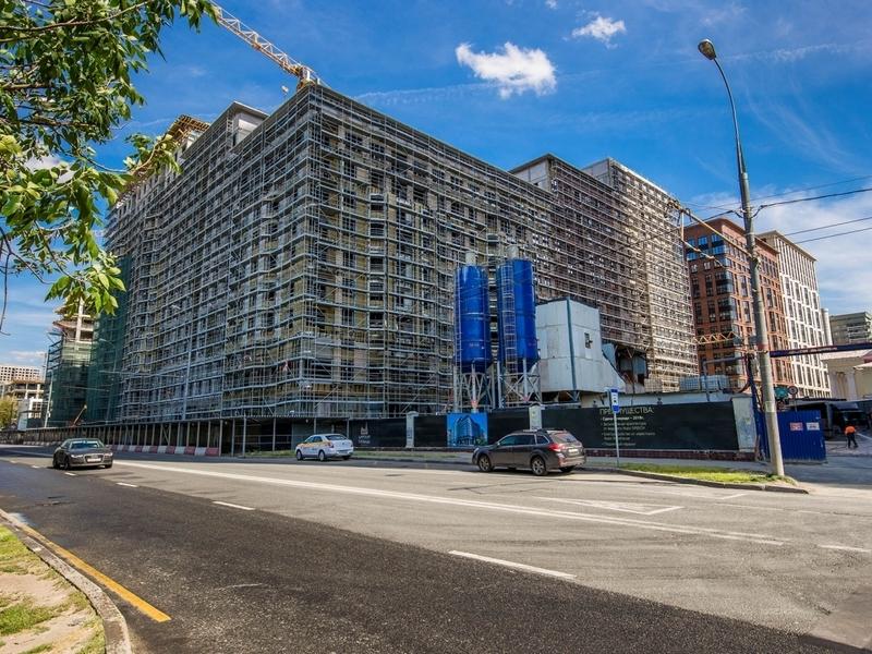 ЖК Царская площадь, Август 2018г.