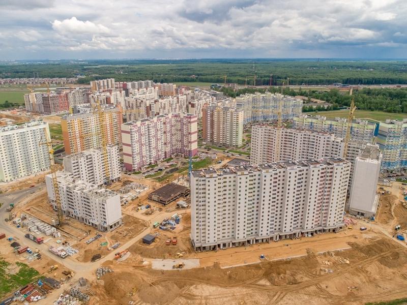 ЖК Новые Ватутинки, Май 2018г.