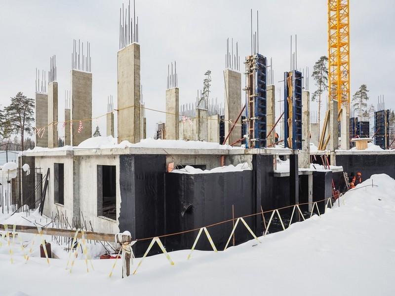 ЖК Лесобережный, Корпус 27. Февраль 2018г.