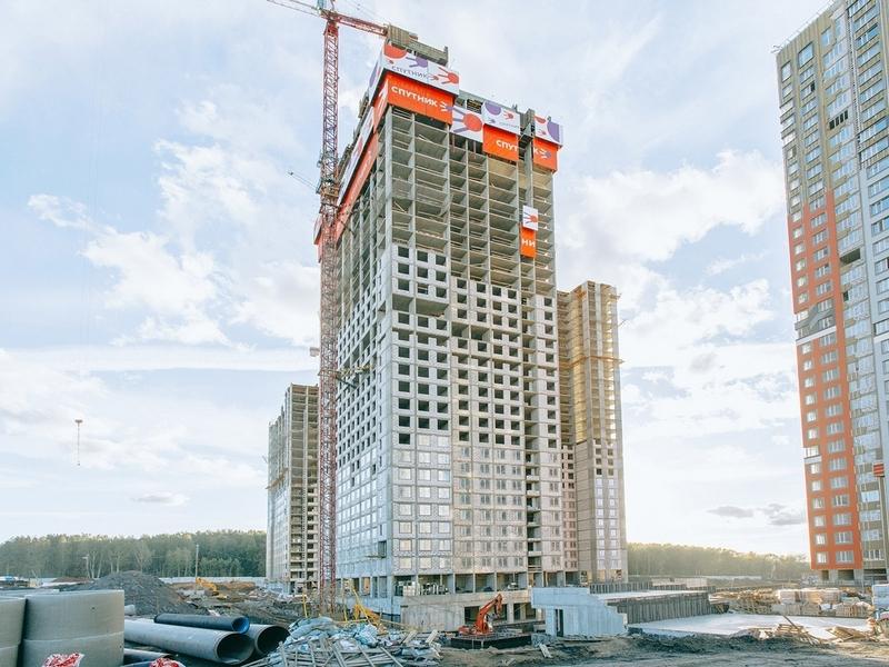 ЖК Спутник, Сентябрь 2018г. Корпус 4